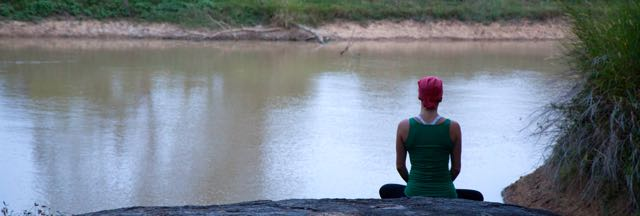 Meditation in Ulpotha, Sri Lanka
